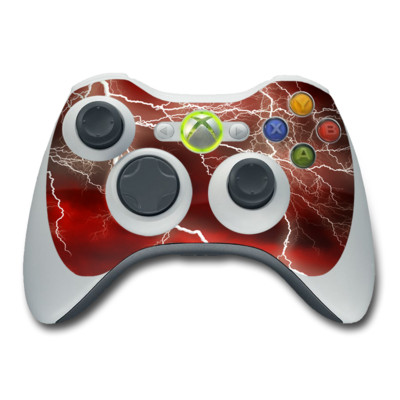 Xbox 360 Controller Skin - Apocalypse Red
