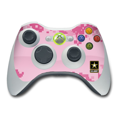 Xbox 360 Controller Skin - Army Pink