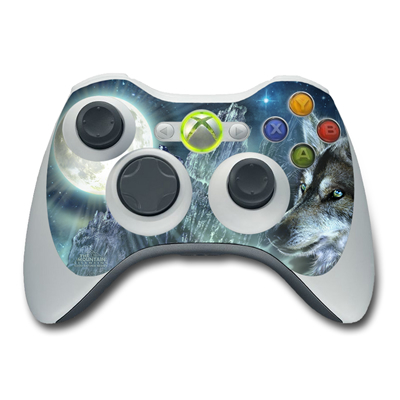 Xbox 360 Controller Skin - Bark At The Moon
