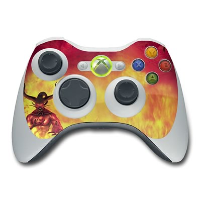 Xbox 360 Controller Skin - The Beast