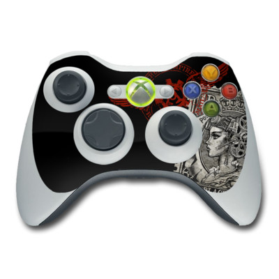 Xbox 360 Controller Skin - Black Penny