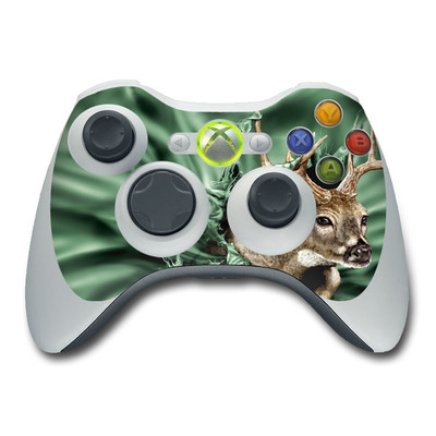 Xbox 360 Controller Skin - Break Through Deer