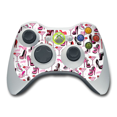 Xbox 360 Controller Skin - Burly Q Shoes