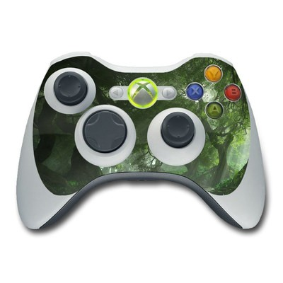 Xbox 360 Controller Skin - Canopy Creek Spring