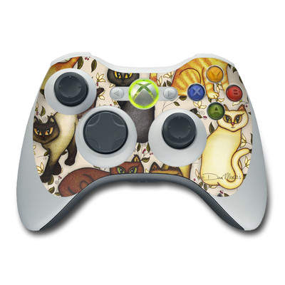 Xbox 360 Controller Skin - Cats