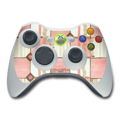 Xbox 360 Controller Skin - Chic Check