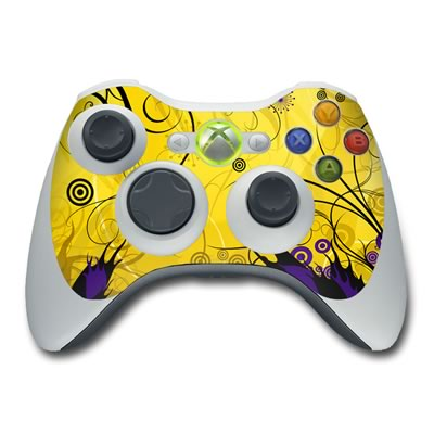 Xbox 360 Controller Skin - Chaotic Land