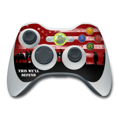 Xbox 360 Controller Skin - Defend