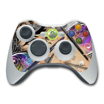 Xbox 360 Controller Skin - Dream Flowers