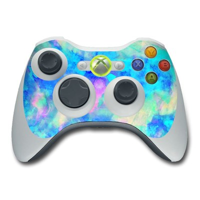 Xbox 360 Controller Skin - Electrify Ice Blue