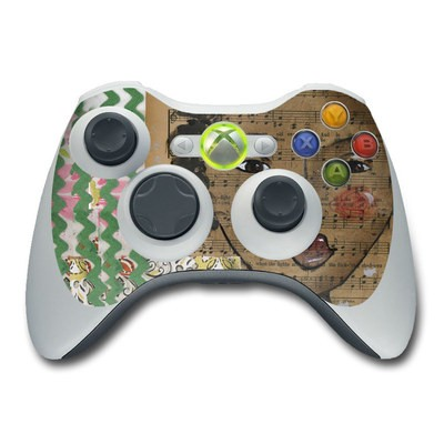 Xbox 360 Controller Skin - Fearless Heart