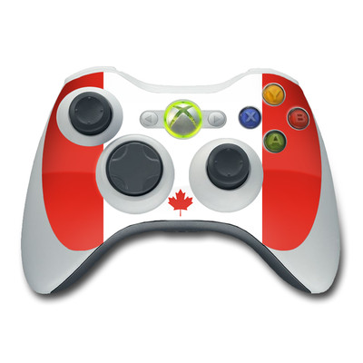 Xbox 360 Controller Skin - Canadian Flag