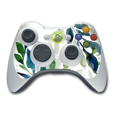 Xbox 360 Controller Skin - Floating Leaves