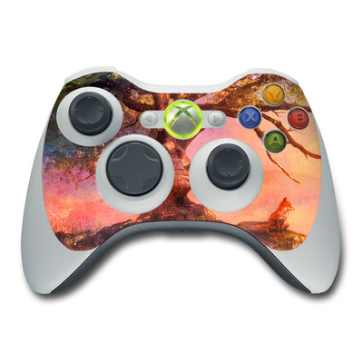Xbox 360 Controller Skin - Fox Sunset