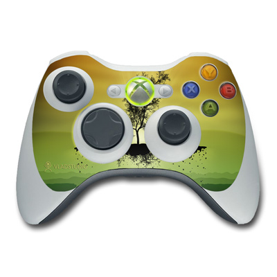 Xbox 360 Controller Skin - Flying Tree Amber