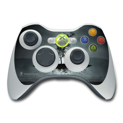 Xbox 360 Controller Skin - Flying Tree Black