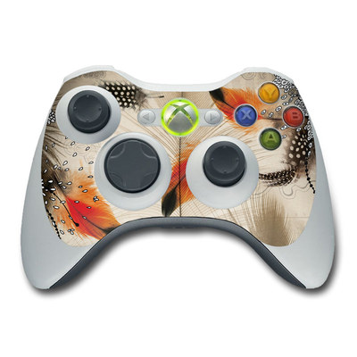 Xbox 360 Controller Skin - Feather Dance