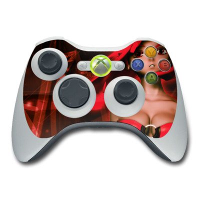 Xbox 360 Controller Skin - Ghost Red