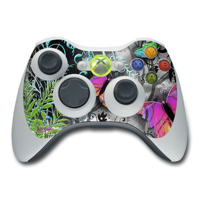 Xbox 360 Controller Skin - Goth Forest