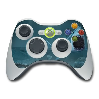 Xbox 360 Controller Skin - Great White