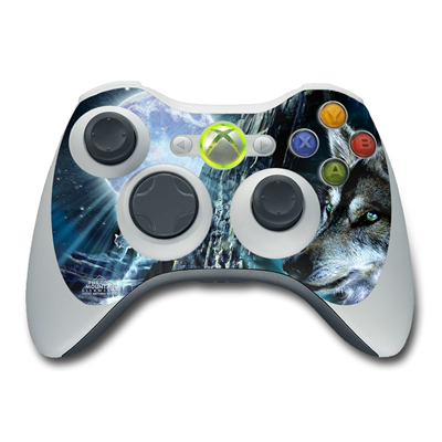 Xbox 360 Controller Skin - Howling