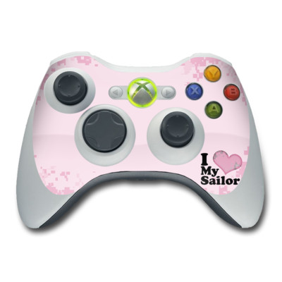 Xbox 360 Controller Skin - I Love My Sailor