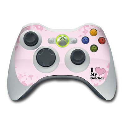 Xbox 360 Controller Skin - I Love My Soldier