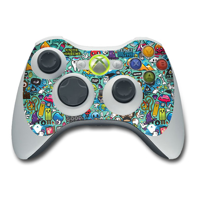 Xbox 360 Controller Skin - Jewel Thief