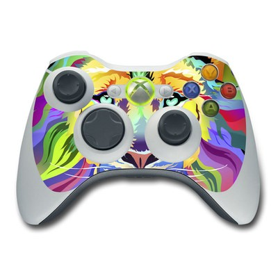 Xbox 360 Controller Skin - King of Technicolor
