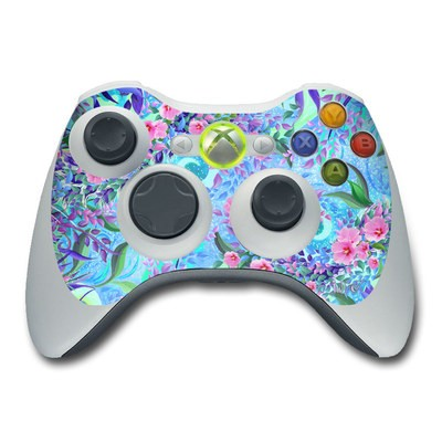 Xbox 360 Controller Skin - Lavender Flowers