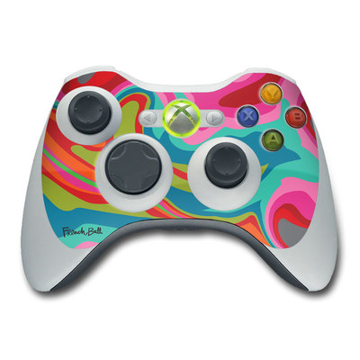 Xbox 360 Controller Skin - Marble Bright