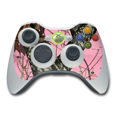 Xbox 360 Controller Skin - Break-Up Pink