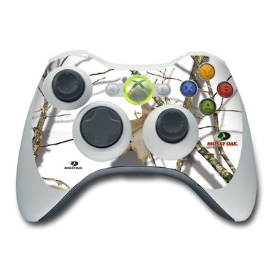 Xbox 360 Controller Skin - Break-Up Lifestyles Snow Drift