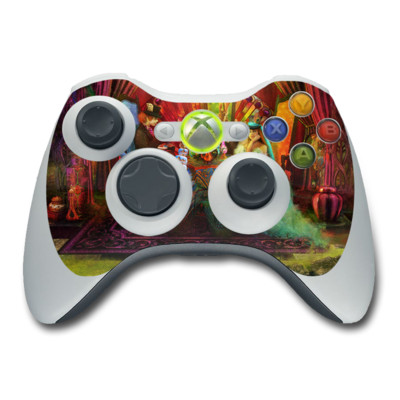Xbox 360 Controller Skin - A Mad Tea Party