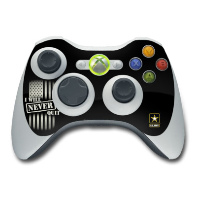 Xbox 360 Controller Skin - Never Quit