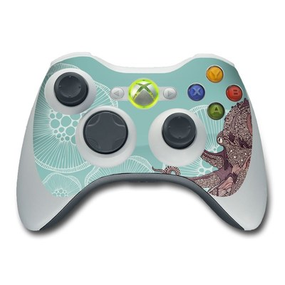Xbox 360 Controller Skin - Octopus Bloom