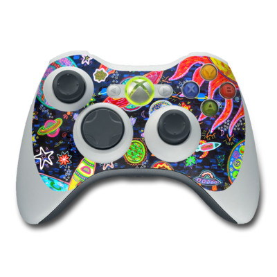 Xbox 360 Controller Skin - Out to Space