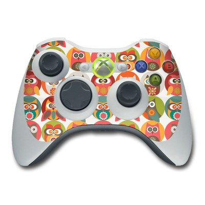 Xbox 360 Controller Skin - Owls Family