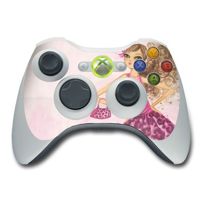 Xbox 360 Controller Skin - Perfectly Pink