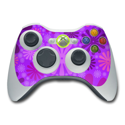 Xbox 360 Controller Skin - Purple Punch