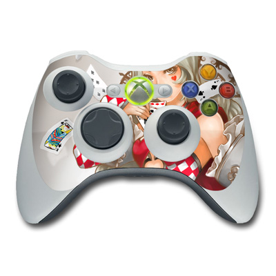Xbox 360 Controller Skin - Queen Of Cards