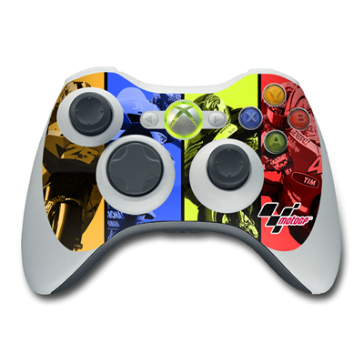 Xbox 360 Controller Skin - Race Panels