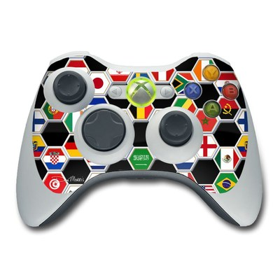 Xbox 360 Controller Skin - Soccer Flags