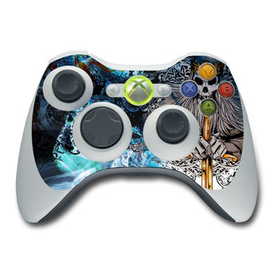 Xbox 360 Controller Skin - Skeleton King