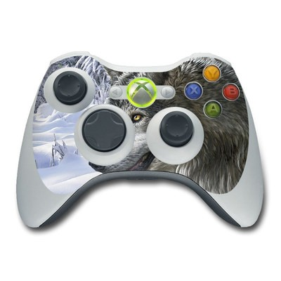 Xbox 360 Controller Skin - Snow Wolves