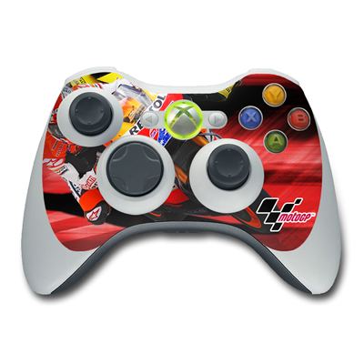Xbox 360 Controller Skin - Speed Collage