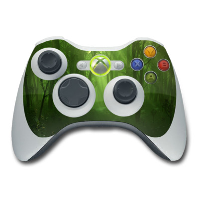 Xbox 360 Controller Skin - Spring Wood