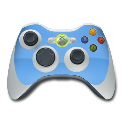 Xbox 360 Controller Skin - Solid State Blue