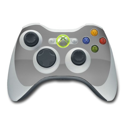 Xbox 360 Controller Skin - Solid State Grey