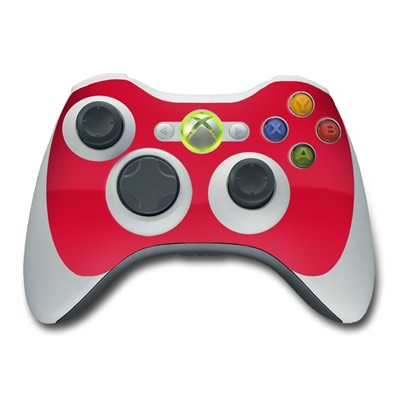Xbox 360 Controller Skin - Solid State Red